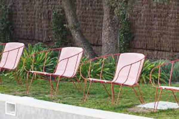 ISIMAR OLIVO lounge with cushion OUTDOOR