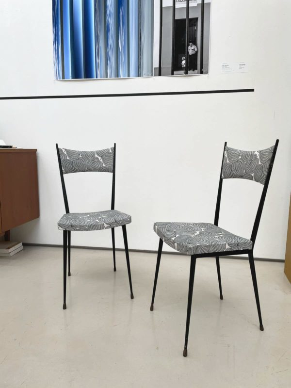 Vintage minimalist Chairs by Colette Gueden